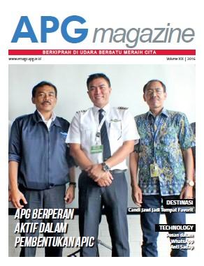 cover APG Magazine edisi XX