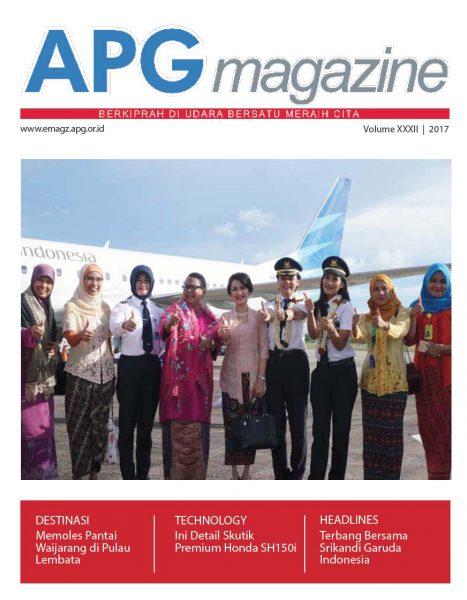 APG Magazine 32 Cover